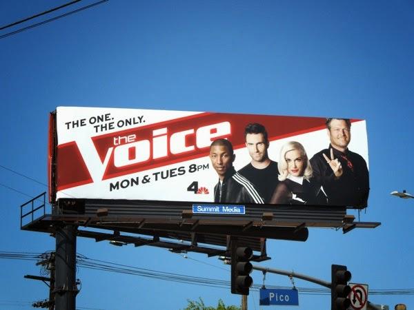 The Voice season 7 billboard