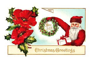Santa Christmas Digital Greeting Card