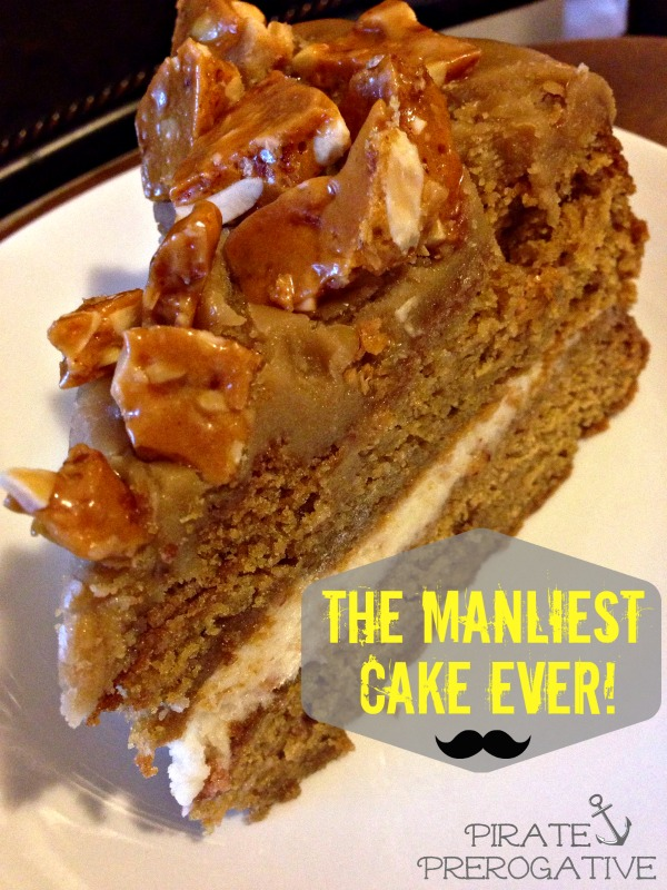 The perfect cake for any man (or bacon lover) in your life! Bacon Maple Beer Cake.