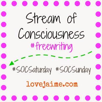 free writing, just write, stream of consciousness