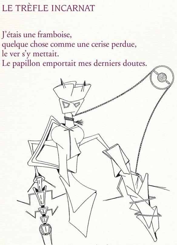 Extrait Le Trèfle incarnat, A-M Beeckman sur dessin Georges-Henri MORIN, Pierre Mainard éditeur