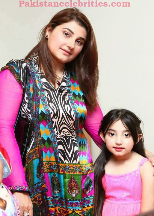 Javeria Saud With Beautiful Daughter Jannat Saud