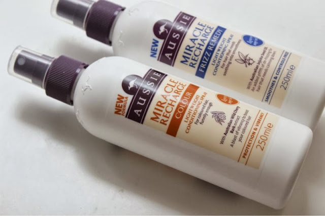 Aussie Miracle Leave in Conditioner Sprays
