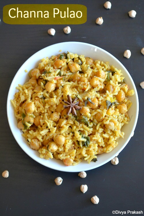 Flavorful Pulao with Channa