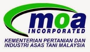 Perjawatan Kosong Di Kementerian Pertanian dan Industri Asas Tani Malaysia MOA 30 Januari 2015