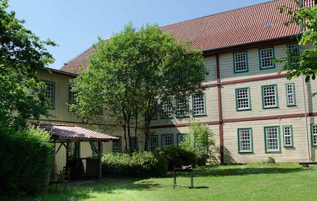 Industriedenkmal Eulenburg Innenhof