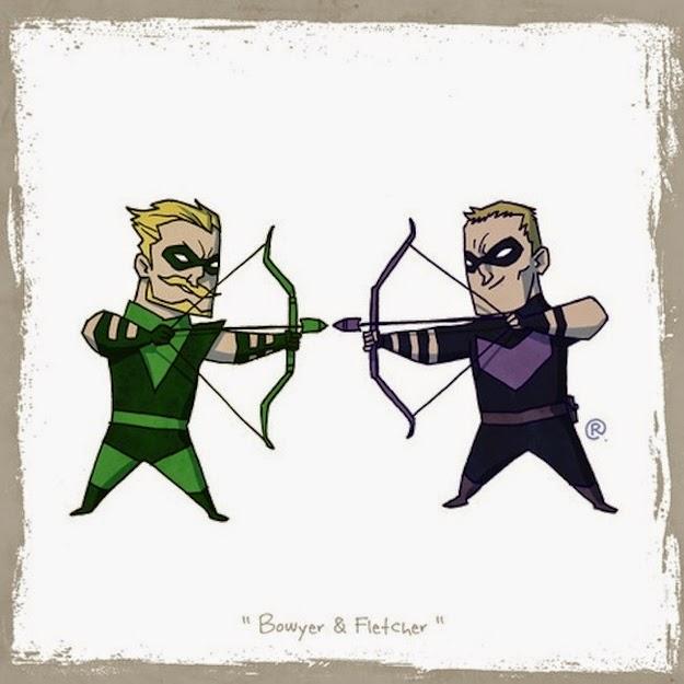 Hawkeye Green Arrow cute