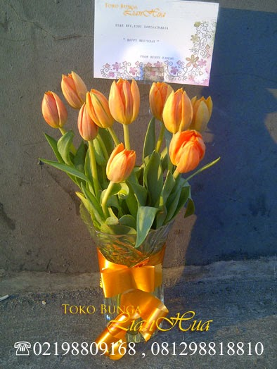 jual bunga tulip di jakarta barat