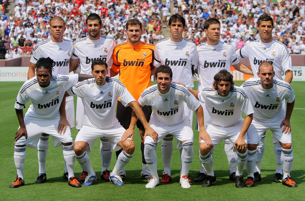 Realmadrid Football Club Players