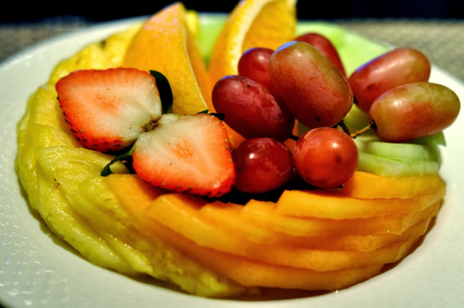 Seasonal Market Fruit - The Café - THEHotel - Las Vegas, NV | Taste As You Go