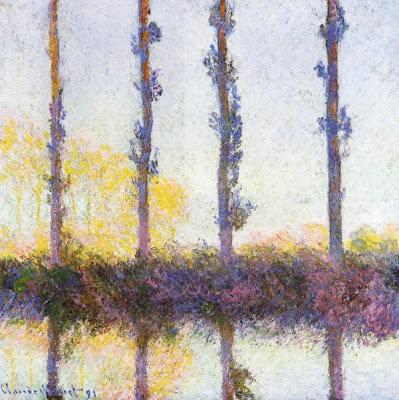Claude Monet, Les Quatre Arbres, 1891