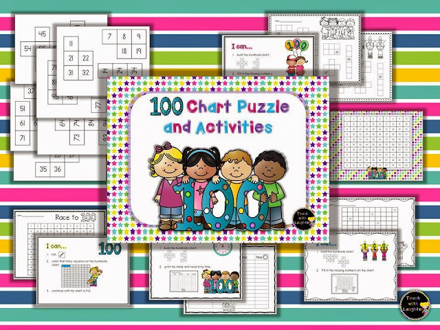 http://www.teacherspayteachers.com/Product/Hundreds-Chart-Puzzle-and-Activity-197487