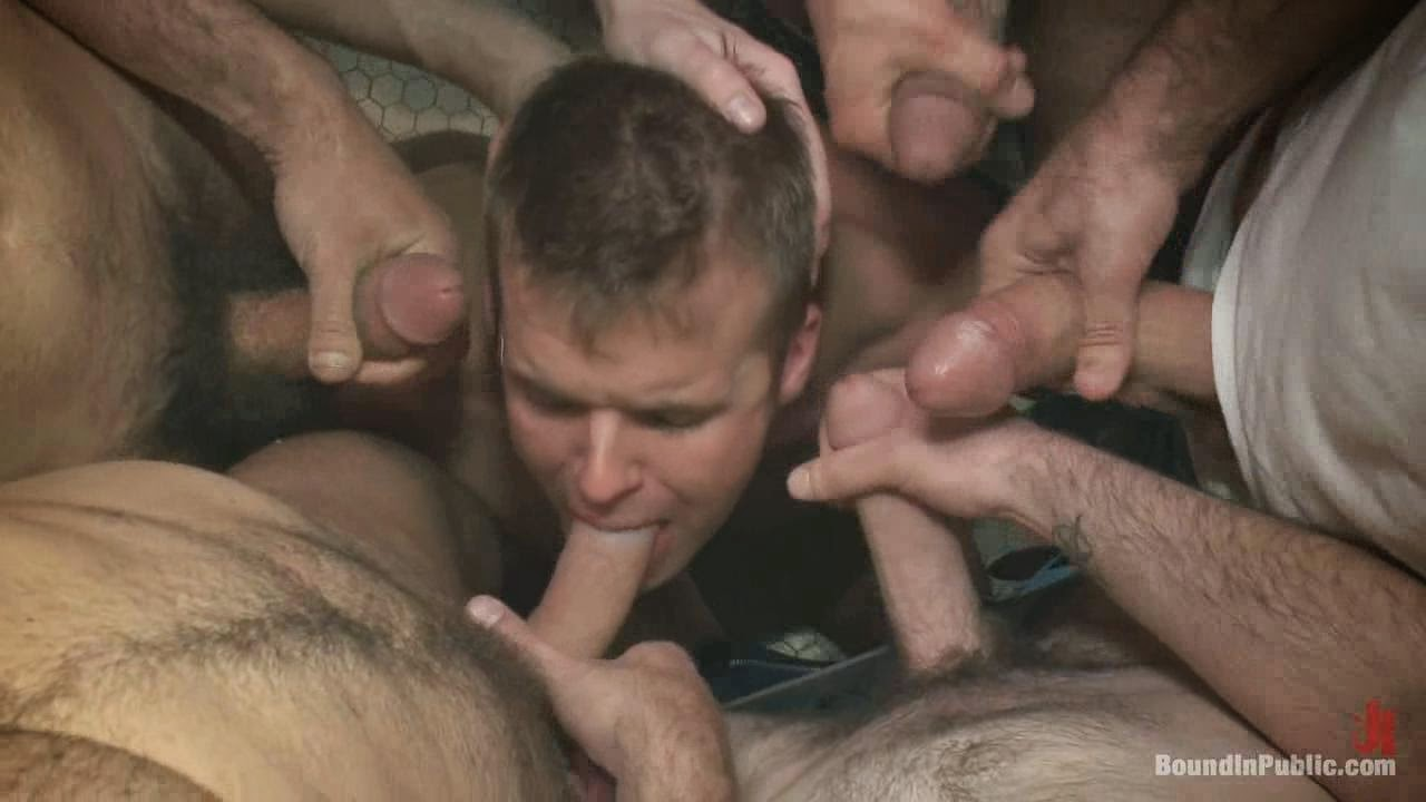 image 1 twink is fucked bareback by 9 older guys