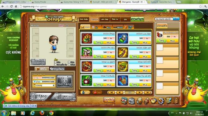 gunny lau tang 99999 xu