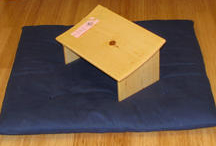 how to make a meditation bench