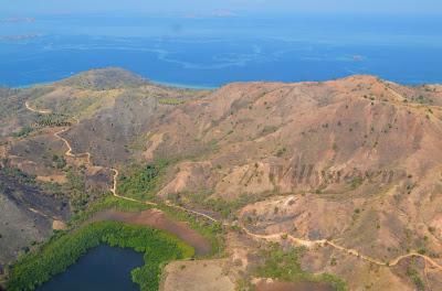Komodo é uma ilha da Indonésia, famosa por ser o habitat do dragão-de-komodo. Komodo está situada em 8.55° S, 119.45° E. Tem cerca de 390 km² de área e cerca de 2000 habitantes. Muitos habitantes descendem de antigos presos que foram exilados, e que se misturaram com os Bugis de Celebes. A maioria da população pratica o Islão.