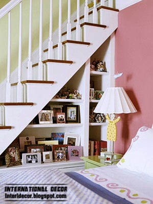 stairwells space for storage home furnishings, under stair storage