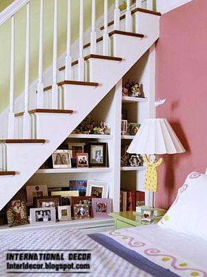 stairwells space for storage home furnishings, under stair storage