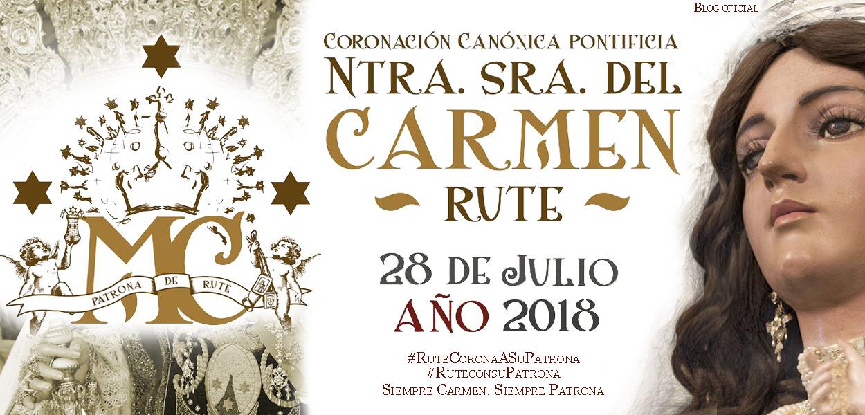 Nuestra Señora del Carmen. Patrona, Reina y Señora de Rute (Córdoba), España