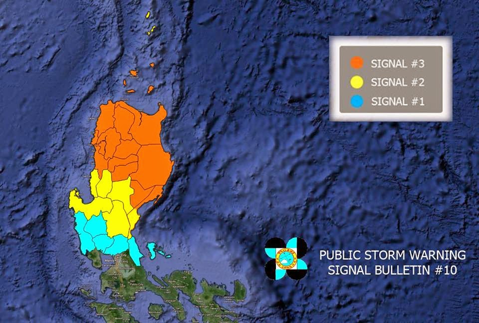 Public Storm Warning Signal Typhoon Luis
