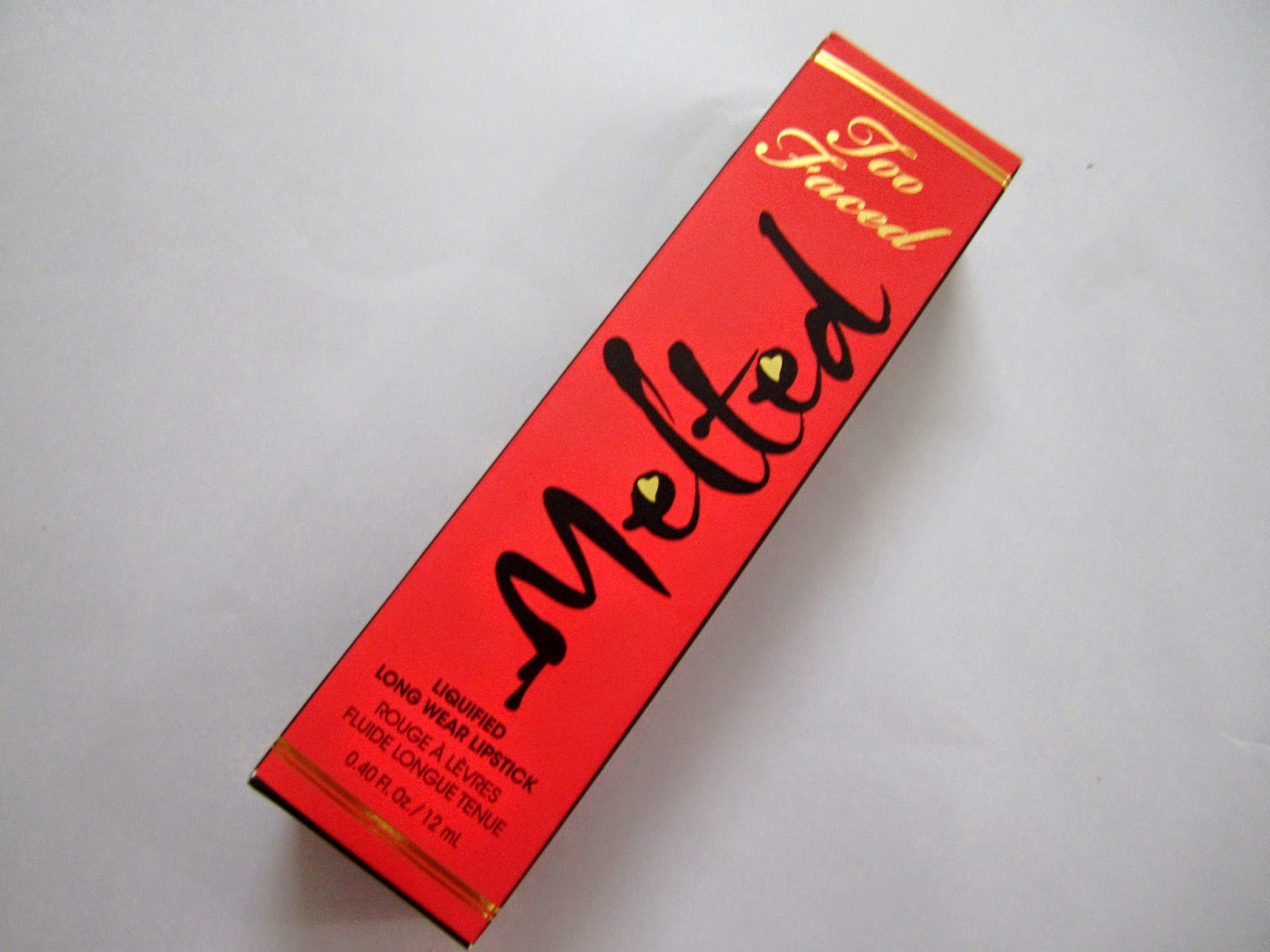 Too Faced Melted Liquified Long Wear Lipstick ~ Melted Coral