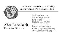 Yachats Youth & Family Activities Program, Inc.
