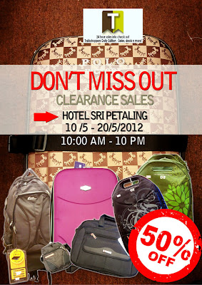 Bags Luggage Clearance Sales