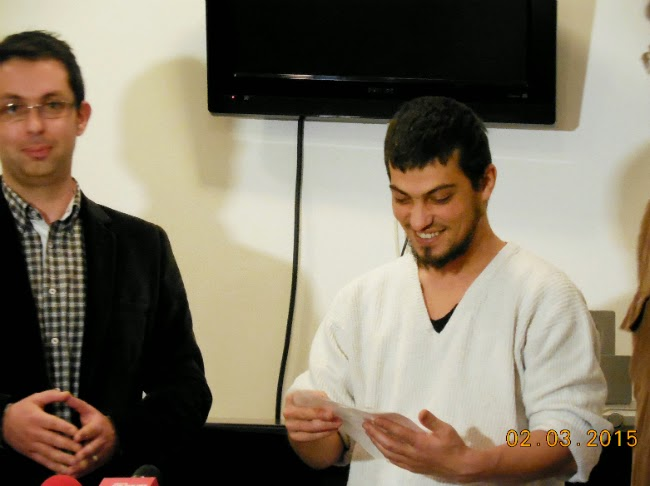 Cosmin Dragoste si Ionut Visan