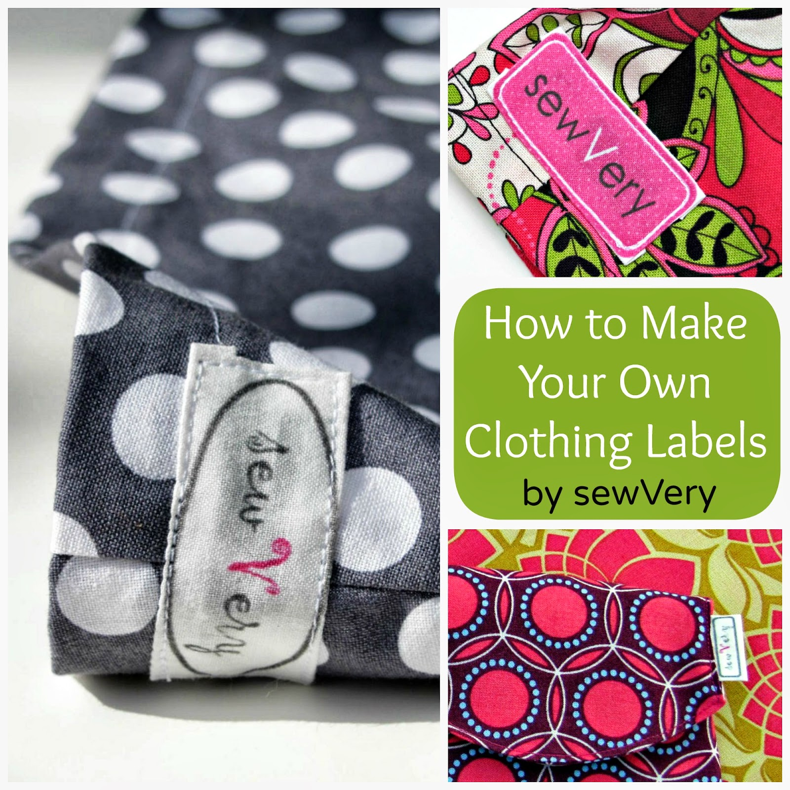 Sewvery how to make your own clothing labels for Create fabric labels