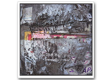 grey, yellow, pink, black and white, urban art, urban photography, abstract, floating frame, contemporary,