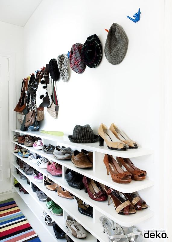 Koradecora entradas almacenaje complementos y zapatos for Scandi deko