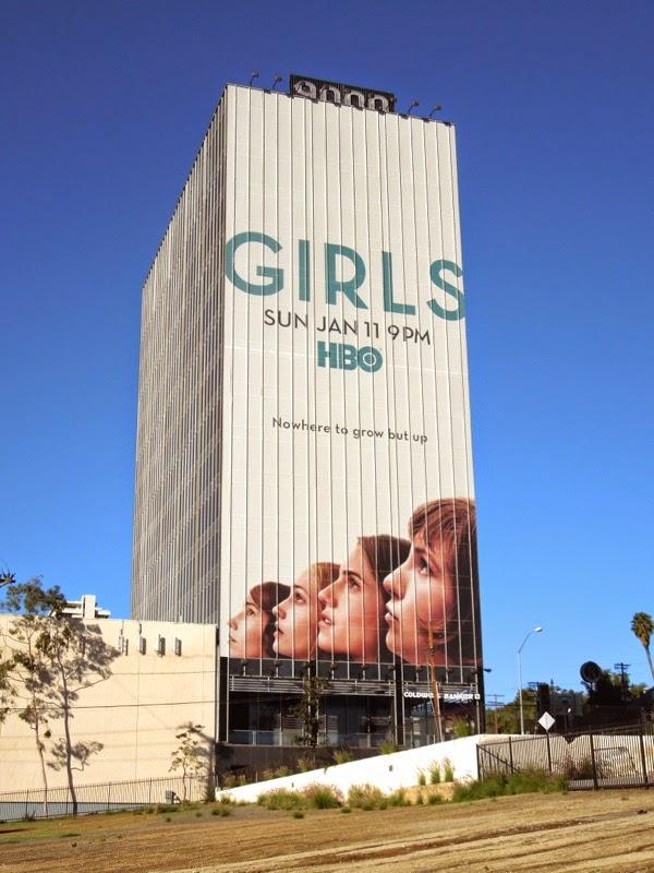Giant Girls season 4 billboard