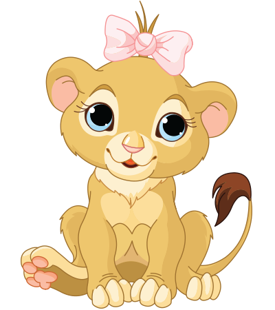 Lion cub emoticon