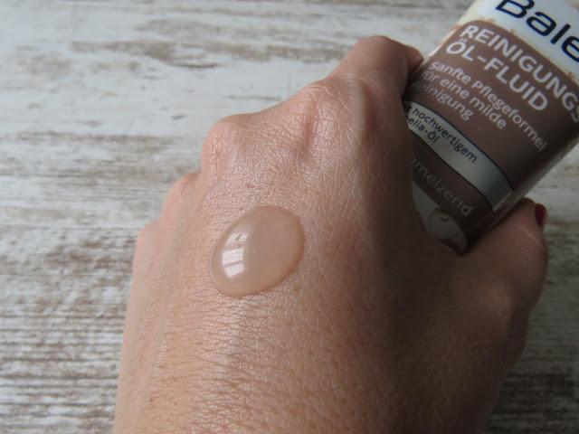 BALEA čistiaci olejový fluid - konzistencia