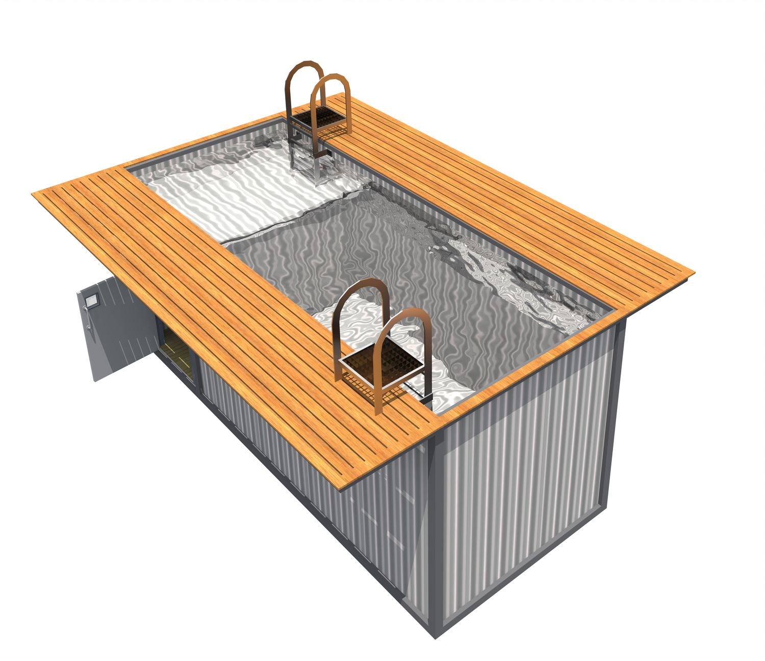 Shipping Container Home Designs Pool 1500 x 1295