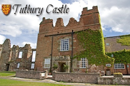 Wedding ceremony offer at at historic tutbury castle staffs