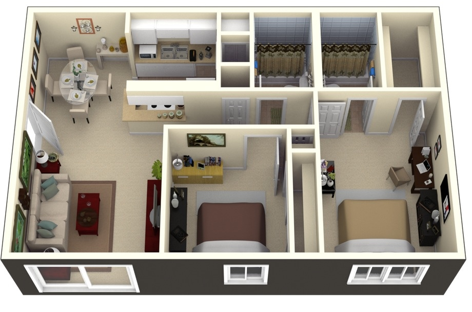 Thoughtskoto for 3d apartment design
