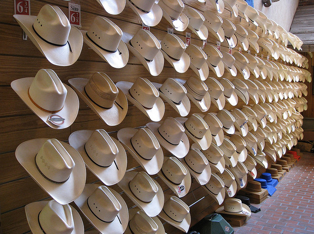 Come To Texas and Choose Your Own Cowboy Hat