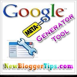 Google Meta Tag Generator Tool