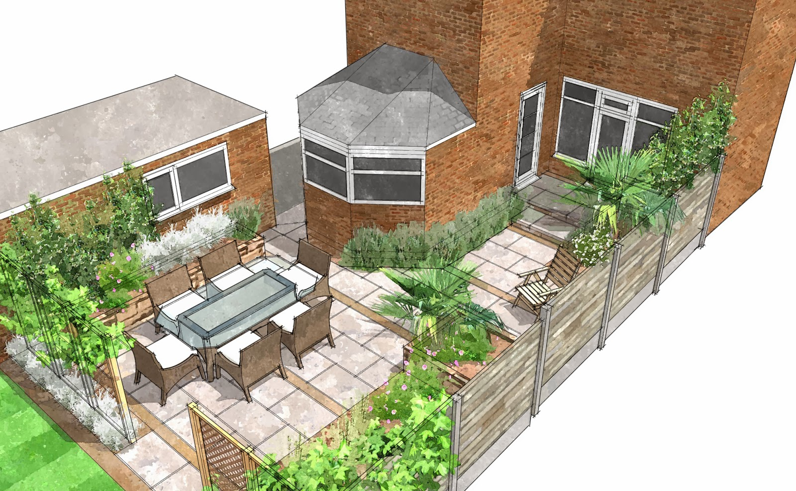 Garden designer in the hull area beverley east yorkshire for Garden design 3d mac