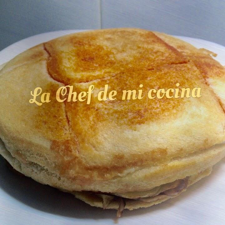 La chef de mi cocina sandwichon roscano - Tefal multicook pro recetas ...