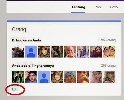 Lingkaran Google+