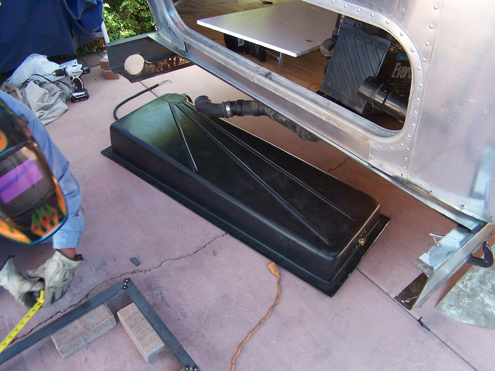 Airstream Renovation Rear End Repairs And Replacement