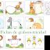 Fichas de grafomotricidad con animales