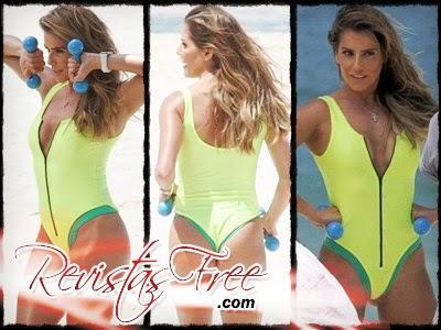 Deborah Secco 01 - Flagras na Praia