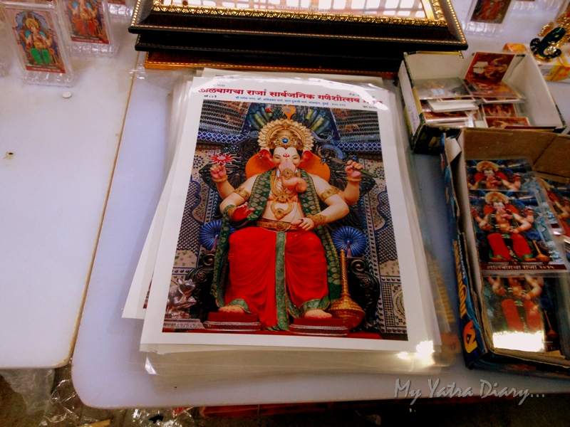 Souvenir of Bappa, Lalbaugcha raja Pandal, Ganesh Pandal Hopping, Mumbai