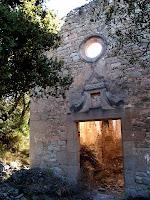 Façana nord de Sant Pere de Monistrol