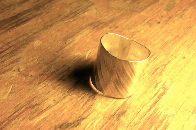 Spinner ring in the making