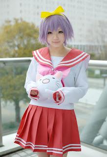 Lucky Star Hiiragi Tsukasa Cosplay by Aka
