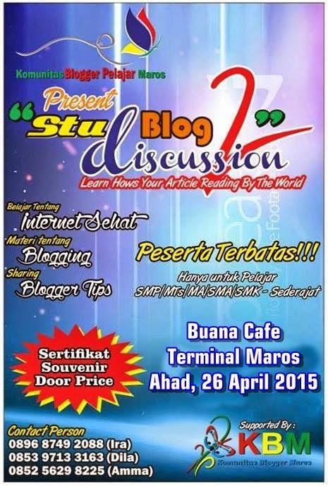 Studblog Discussion Event 2 Kembali Di Gelar Oleh KBPM